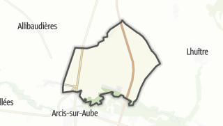 Mapa / Le Chêne