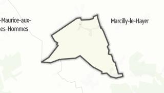 Mapa / Bercenay-le-Hayer