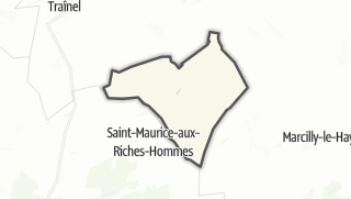 Mapa / Trancault