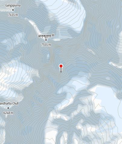Karte / Nepal - Annapurna Circuit Lodge-Trek