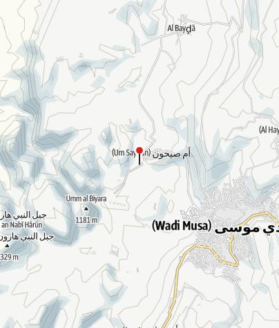 Mapa / Jordanien - Wanderreise Glanzlichter