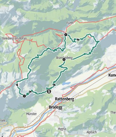 4-day tour Brandenberg Alps • Mountain Hike » outdooractive.com