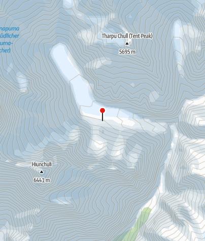 Karte / Nepal - Annapurna Basecamp-Trek