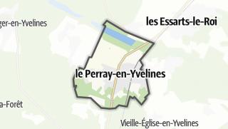 Mapa / Le Perray-en-Yvelines