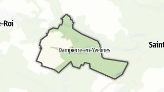 Mapa / Dampierre-en-Yvelines