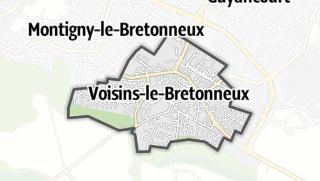 Mapa / Voisins-le-Bretonneux