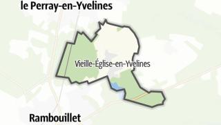 Mapa / Vieille-Eglise-en-Yvelines