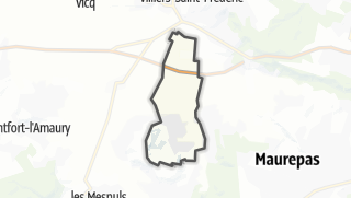 Mapa / Le Tremblay-sur-Mauldre