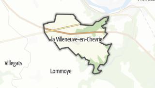 Mapa / La Villeneuve-en-Chevrie