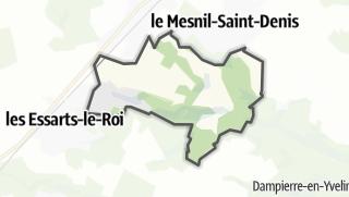 Mapa / Lévis-Saint-Nom