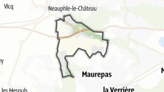 Mapa / Jouars-Pontchartrain