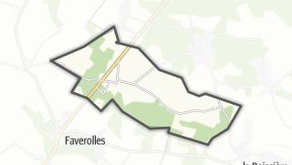 Mapa / Le Tartre-Gaudran