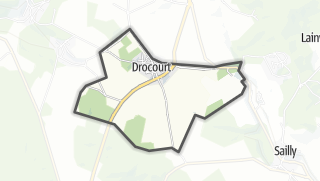 Mapa / Drocourt