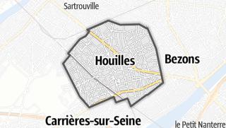 Mapa / Houilles