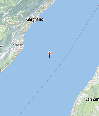 Karte / Italien - Top 5 Klettersteige am Gardasee