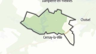 Mapa / Senlisse