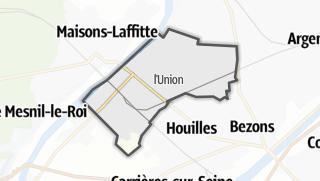 Mapa / Sartrouville