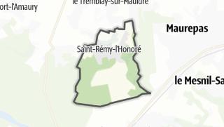 Mapa / Saint-Rémy-l'Honoré