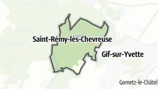 Mapa / Saint-Rémy-lès-Chevreuse