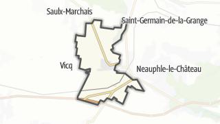 Mapa / Neauphle-le-Vieux