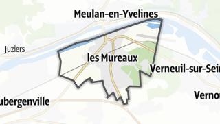 Mapa / Les Mureaux