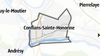 Mapa / Conflans-Sainte-Honorine
