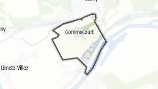 Mapa / Gommecourt