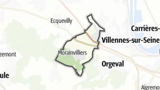 Mapa / Morainvilliers