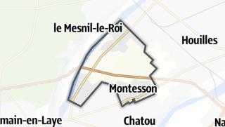 Mapa / Montesson