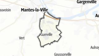 Mapa / Guerville