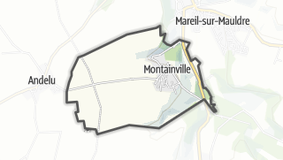 Mapa / Montainville