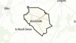 Mapa / Mondreville