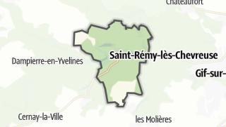 Mapa / Chevreuse