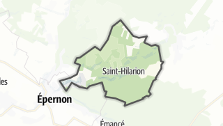 Mapa / Saint-Hilarion
