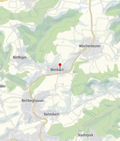 Karte / Wallfahrtskirche Birenbach