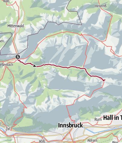 Map / Walk to Hallerangerhaus