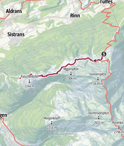 Map / Walk the Zirbenweg