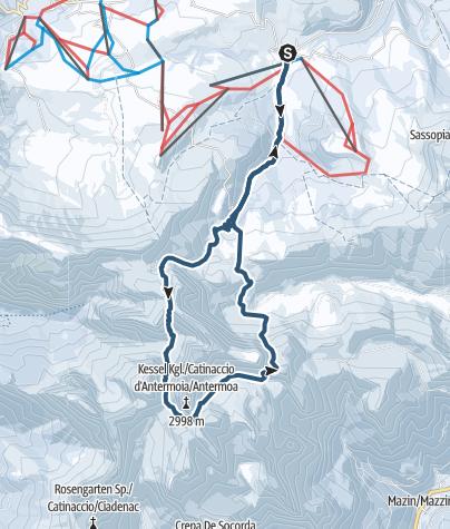 Karte / Die Antermoiarunde