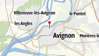 Carte / Randonnée dans les villages perchés du Lubéron