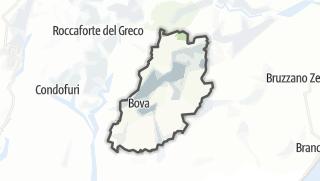 Mapa / Bova