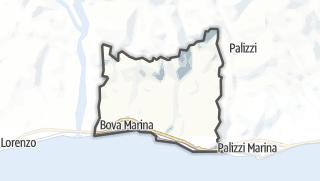 Mapa / Bova Marina