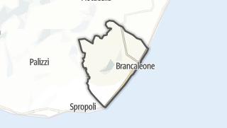Mapa / Brancaleone