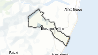 Mapa / Bruzzano Zeffirio