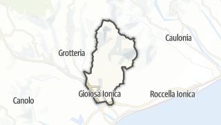 Mapa / Gioiosa Ionica