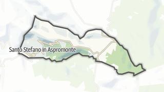 Mapa / Santo Stefano in Aspromonte