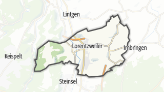 Hartă / Lorentzweiler