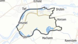 Mappa / West Maas en Waal
