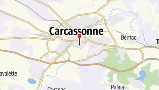 Carte / Châteaux du pays cathare en VTT
