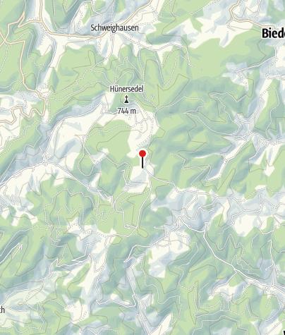 Karte / Wanderheim Kreuzmoos