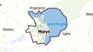 Mapa / Moryn